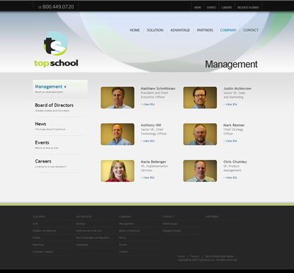 "TopSchoolInc.com | 2009 IMA Awards, ""Best in Class"" 