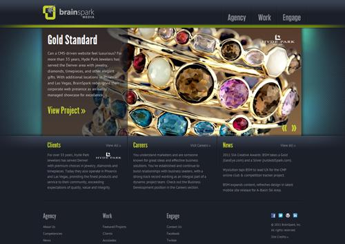 BrainSpark Media Website - Silver 2011 Summit Creative Award
